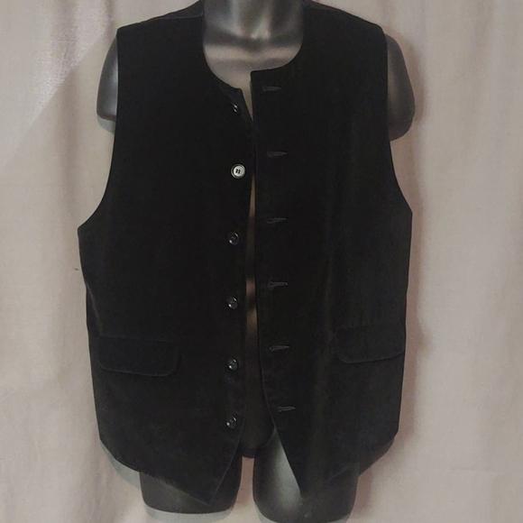Katharine Hamnett London Men's Velvet Vest